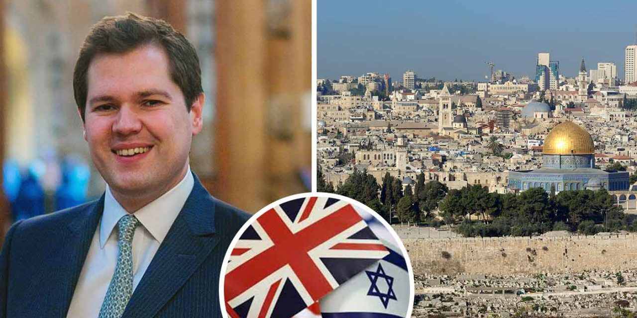 "UK Minister: ""I look forward to Britain's embassy moving to Jerusalem"""