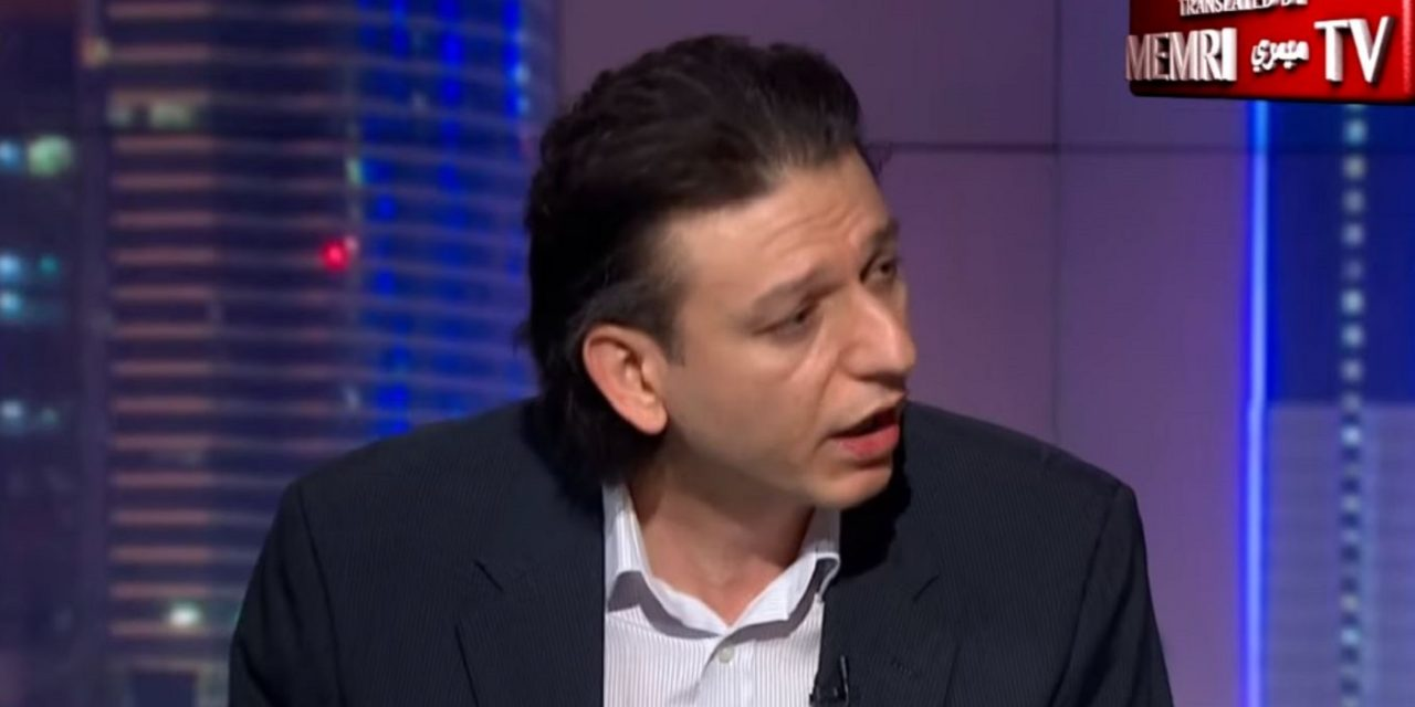 "Syrian journalist speaks truth about Israel on Al-Jazeera: ""Jews make miracles out of the impossible"""