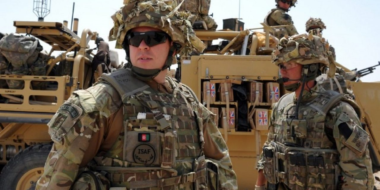 British military withdraws personnel from Iraq as 20,000 troops set for deployment in UK
