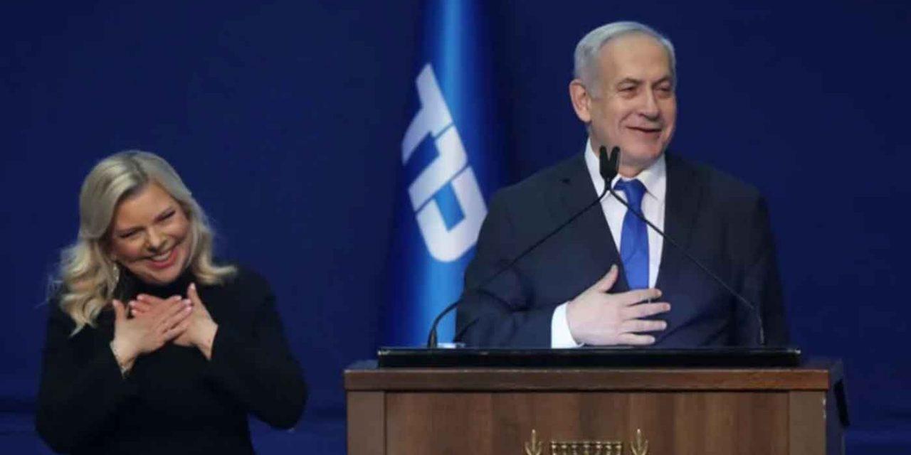 "Netanyahu hails ""huge victory"" in historic Israeli election"