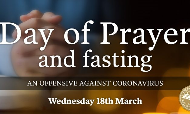 Day of Prayer and Fasting to take place on Wednesday concerning coronavirus