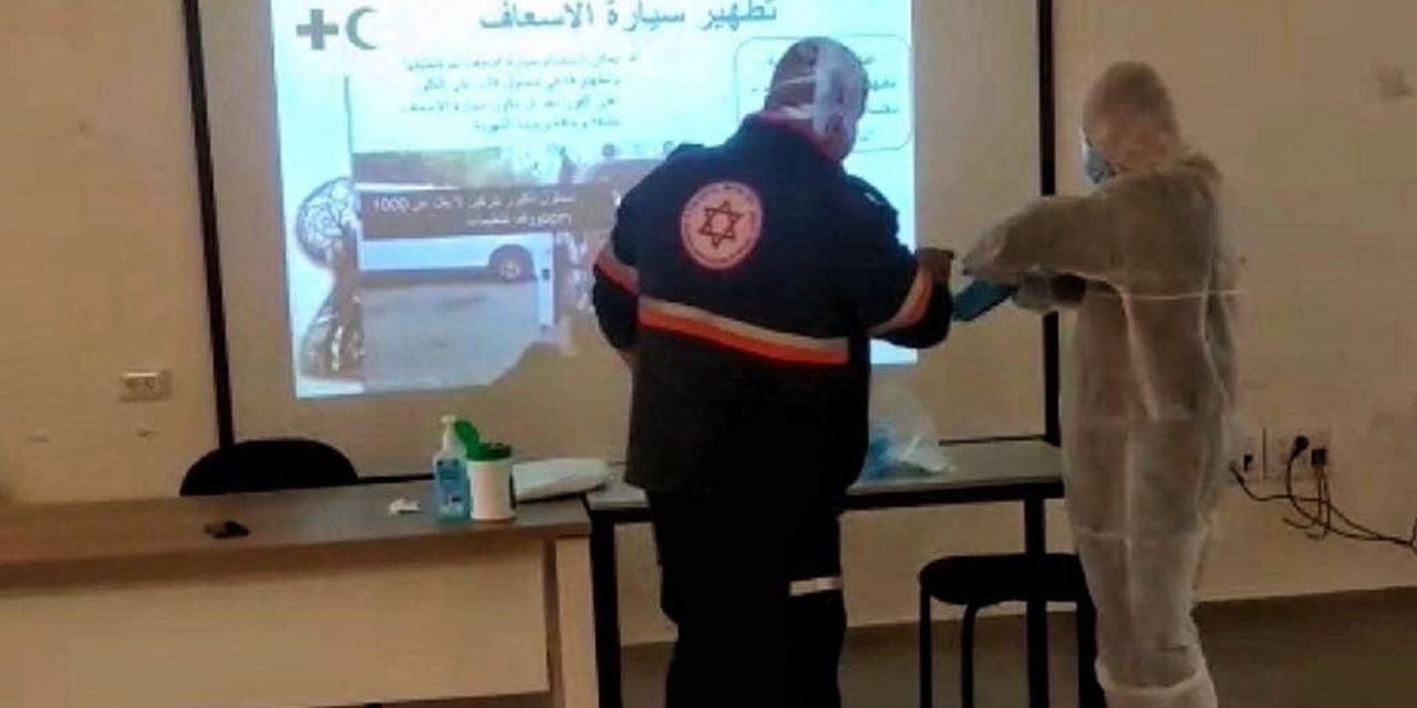 Israel provides Palestinian Authority with Coronavirus tests and training