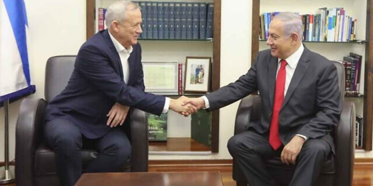 Netanyahu and Gantz to form unity government in Israel