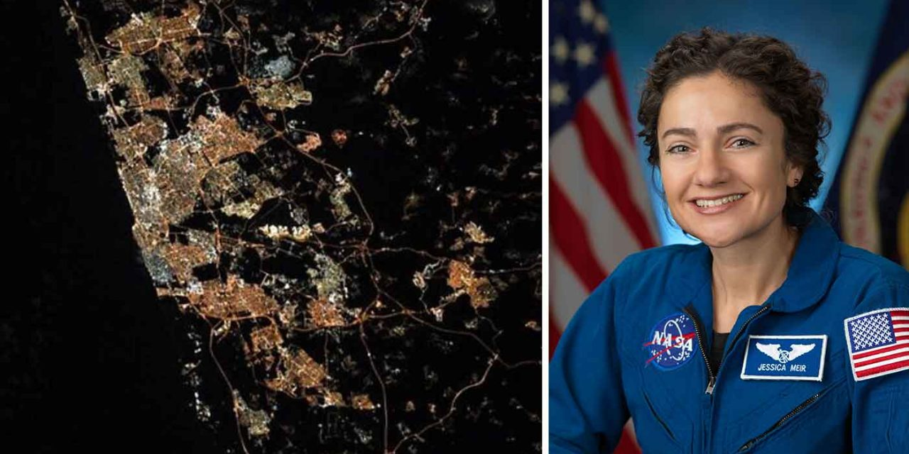 """""""This too shall pass"""" – Astronaut Jessica Meir sends encouragement with picture of Israel from space"""