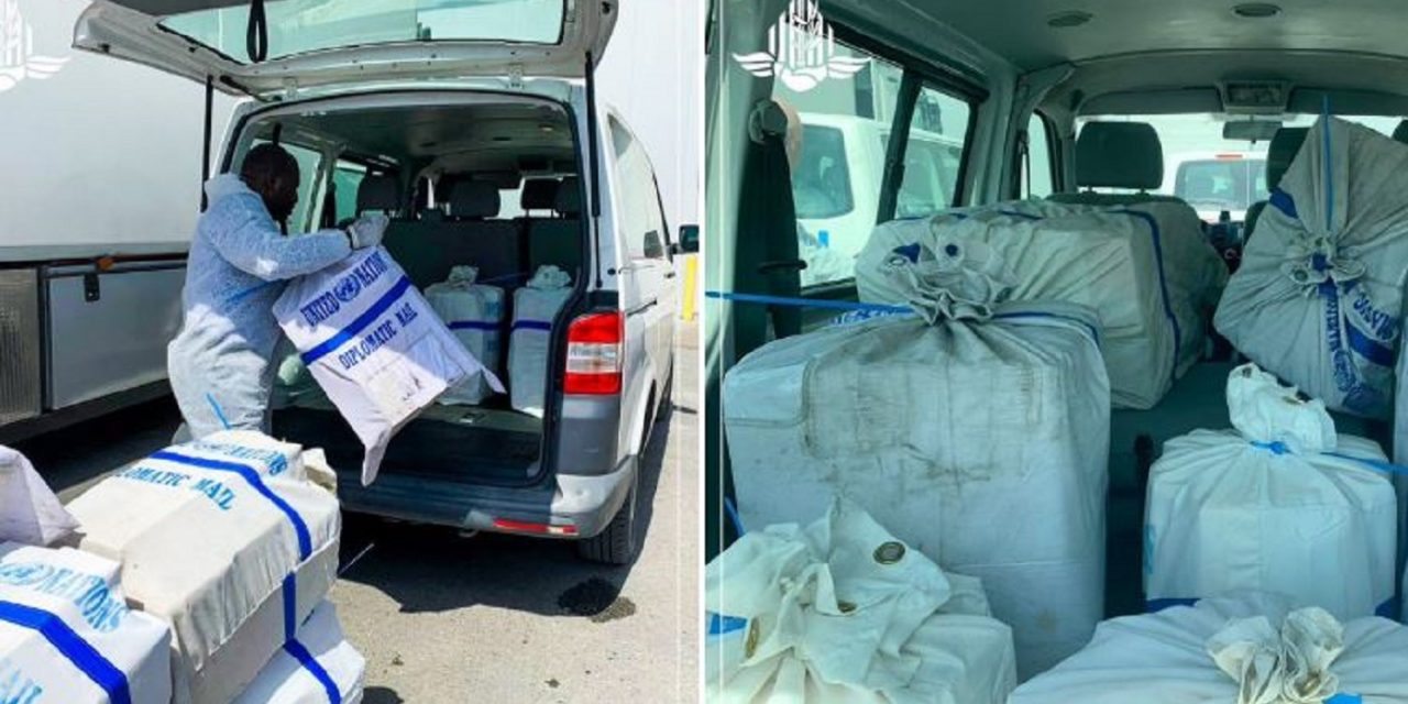 Israel delivers 3,000 more COVID-19 test kits and 50,000 masks to Palestinian Authority