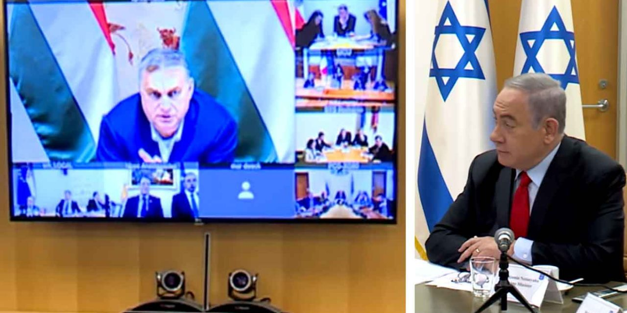 Netanyahu holds video conference call with European leaders over Coronavirus outbreak