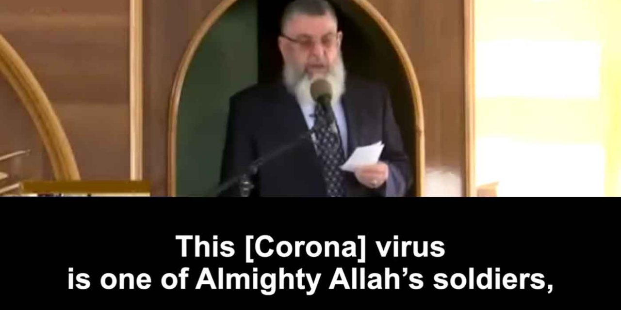 """PA TV preacher: Coronavirus """"is one of Almighty Allah's soldiers"""""""