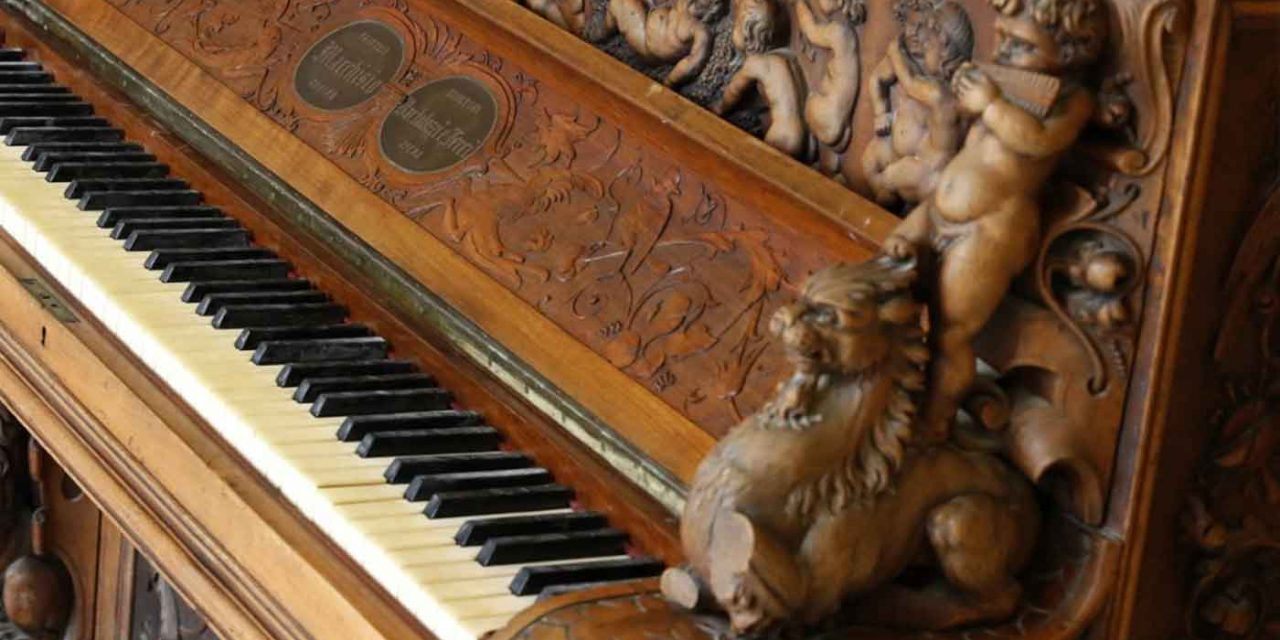 Piano said to be made of wood from Solomon's Temple up for auction
