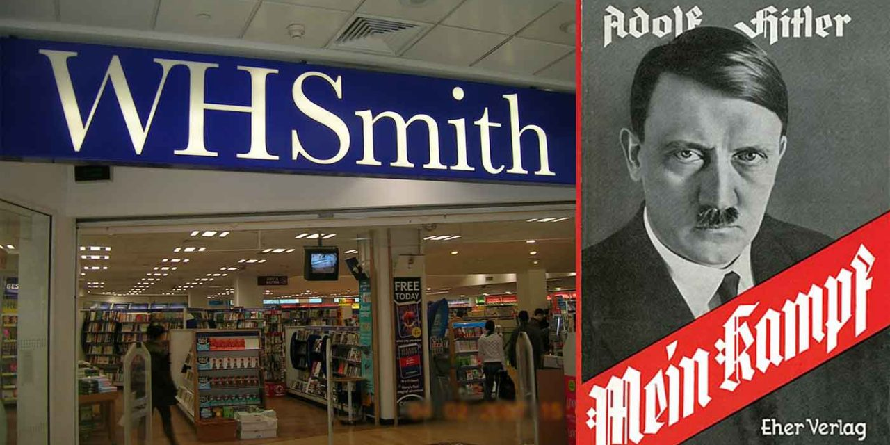 WHSmith apologises for selling Hitler's Mein Kampf and Protocols of the Elders of Zion