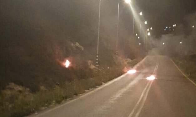 Israel: Border Police escape jeep struck by firebomb