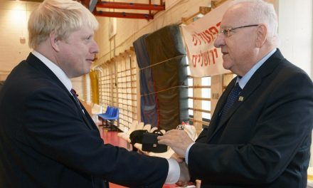 """Israel's Rivlin to Boris and Charles: """"The Almighty is a faithful and merciful healer"""""""