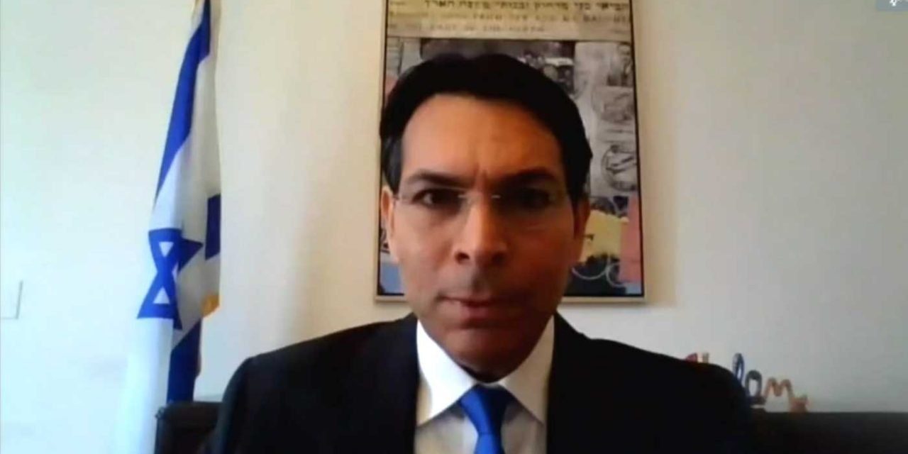 "Israel's Danon calls PA ""shameless liars"" who ""spread anti-Semitic libel"" at UN Security Council meeting"