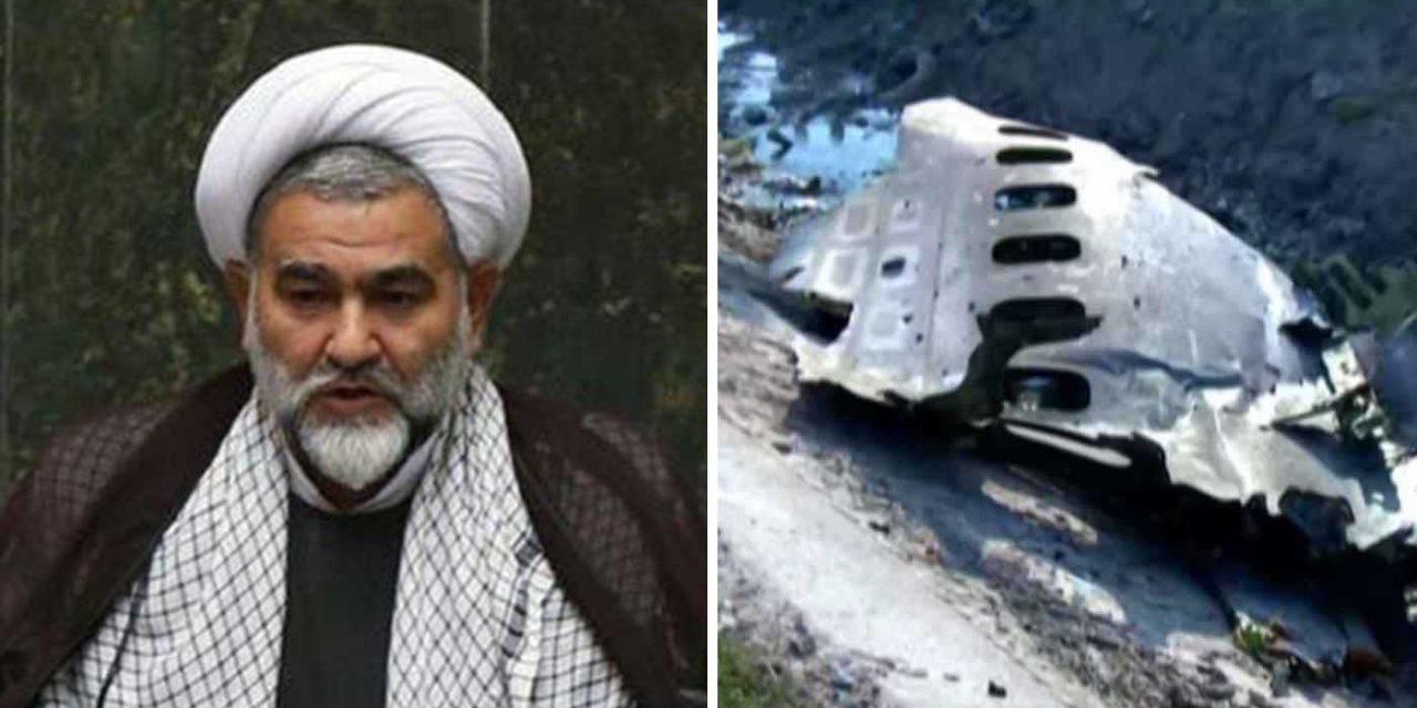 "Iranian MP said military did ""well"" to shoot down Ukrainian passenger plane"