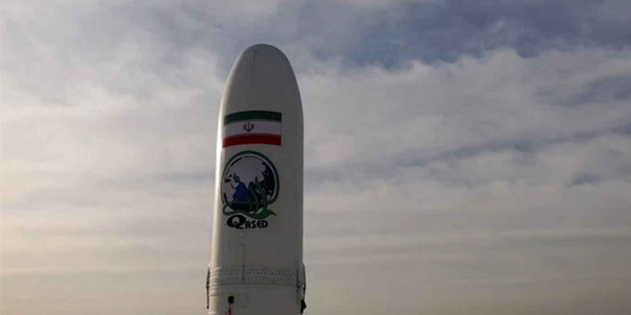 Iran launches military satellite into orbit in apparent violation of UN resolution