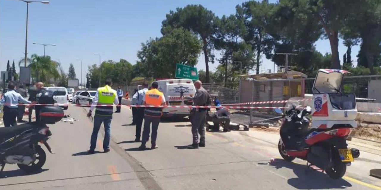 Palestinian terrorist stabs 62-year-old Israeli woman