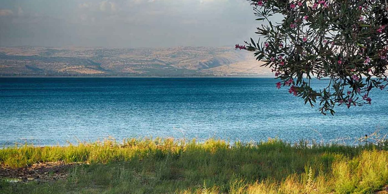 Sea of Galilee is filled to overflowing as rainfall blesses Israel
