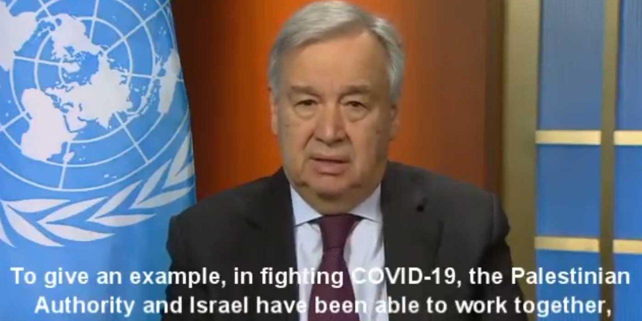 UN praises Israeli-Palestinian cooperation in fight against Coronavirus