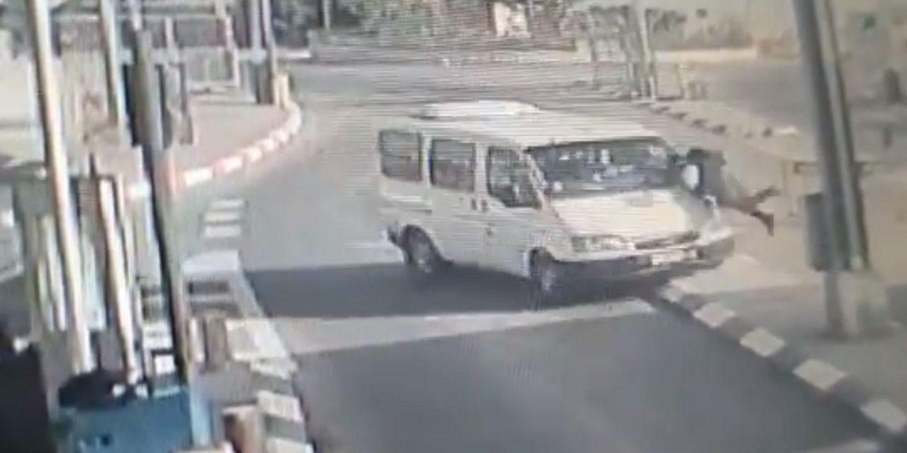 Palestinian terrorist rams into Israeli border officer, then stabs him
