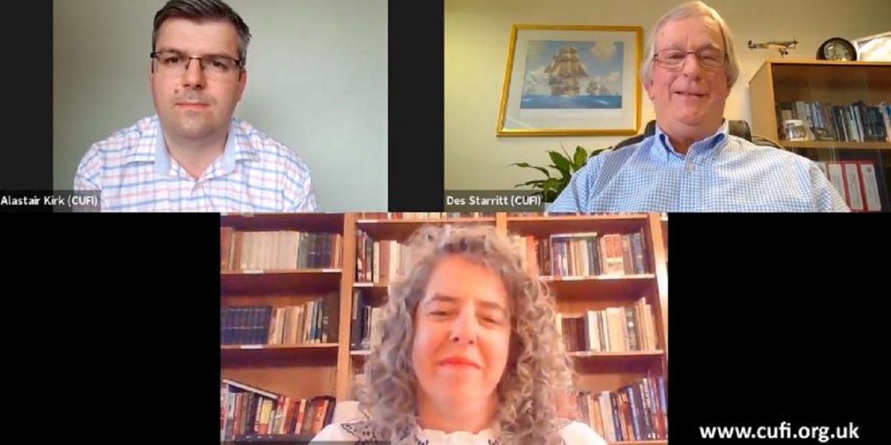WATCH: CUFI's video call with the Israeli embassy in London