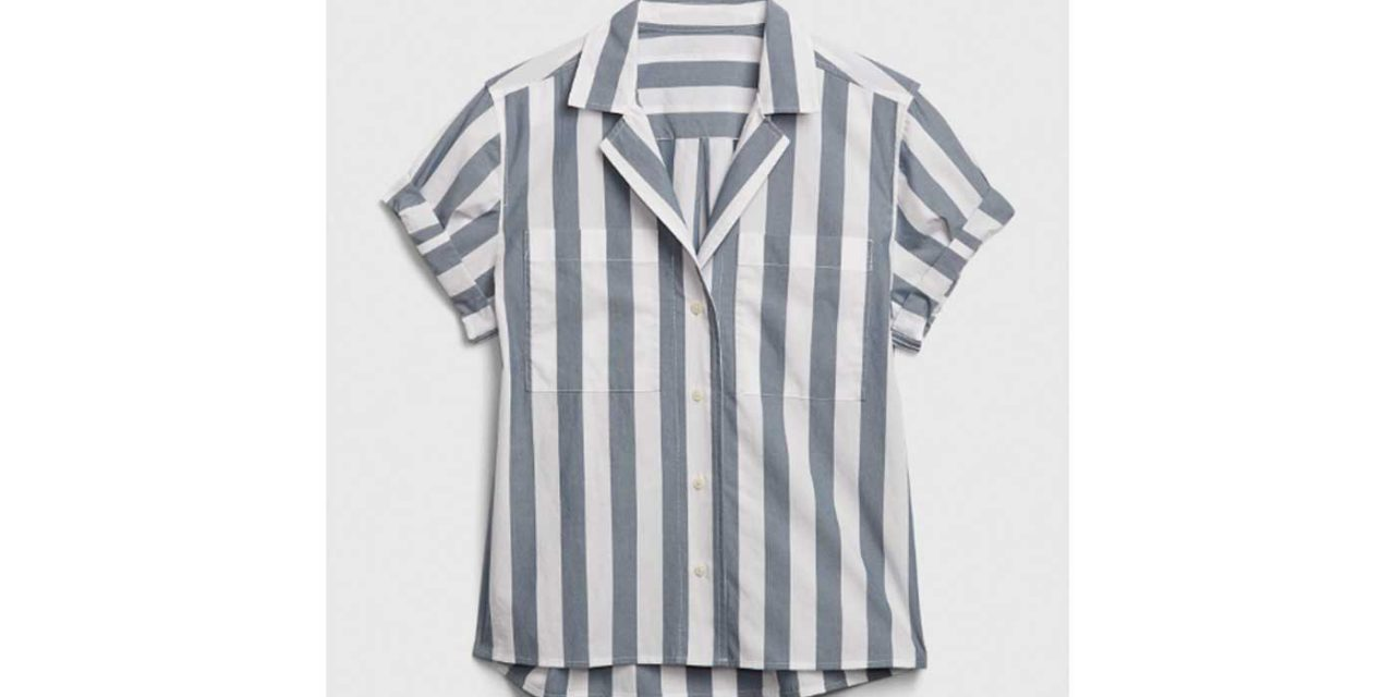 Gap sells product called 'Camp Shirt' resembling Auschwitz uniform
