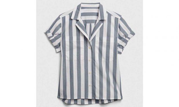 Gap sells product called 'Camp Shirt' resembling Auschwitz uniform