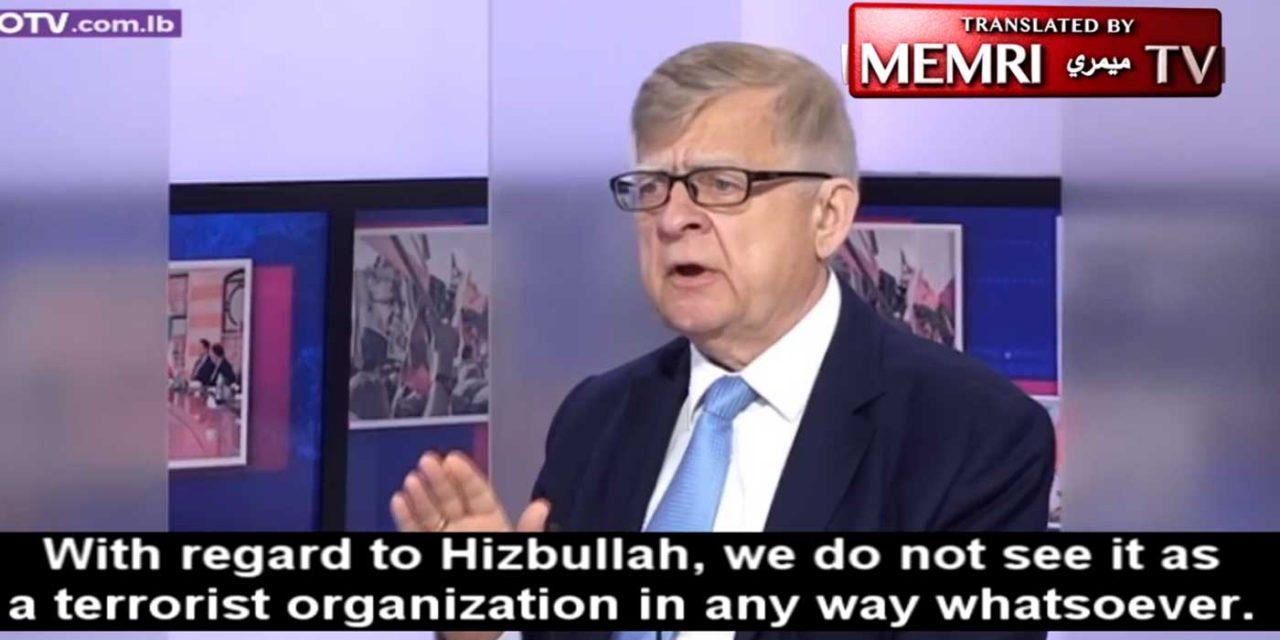 "Russian Ambassador to Lebanon says ""Hezbollah is not a terror organisation; it fights terror"""