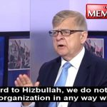 "Russian Ambassador to Lebanon says ""Hezbollah is not a terror organisation; it fights terror"""