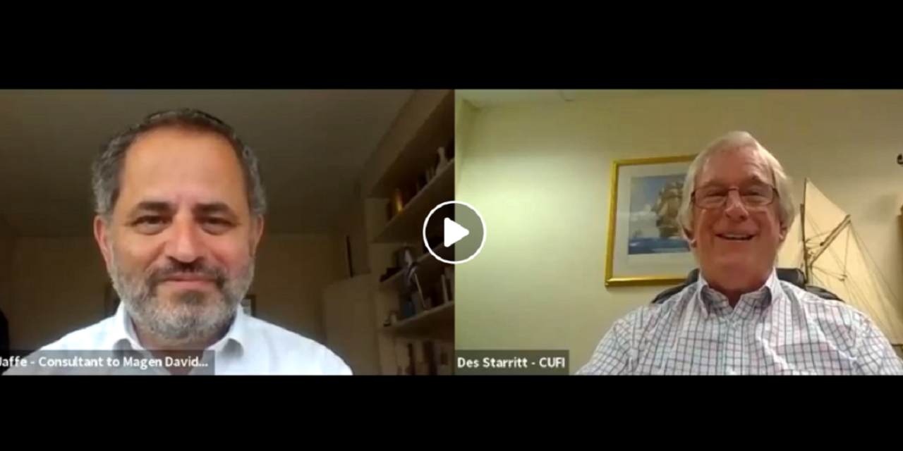 CUFI interviews Steven Jaffe: The importance of the Christian-Jewish relationship