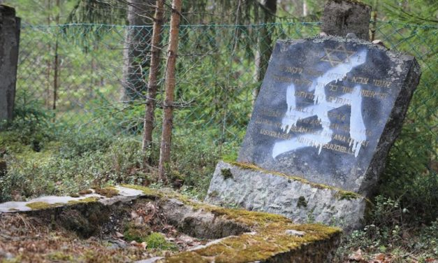 """Death to Jews"" and swastikas daubed on gravestones in France"