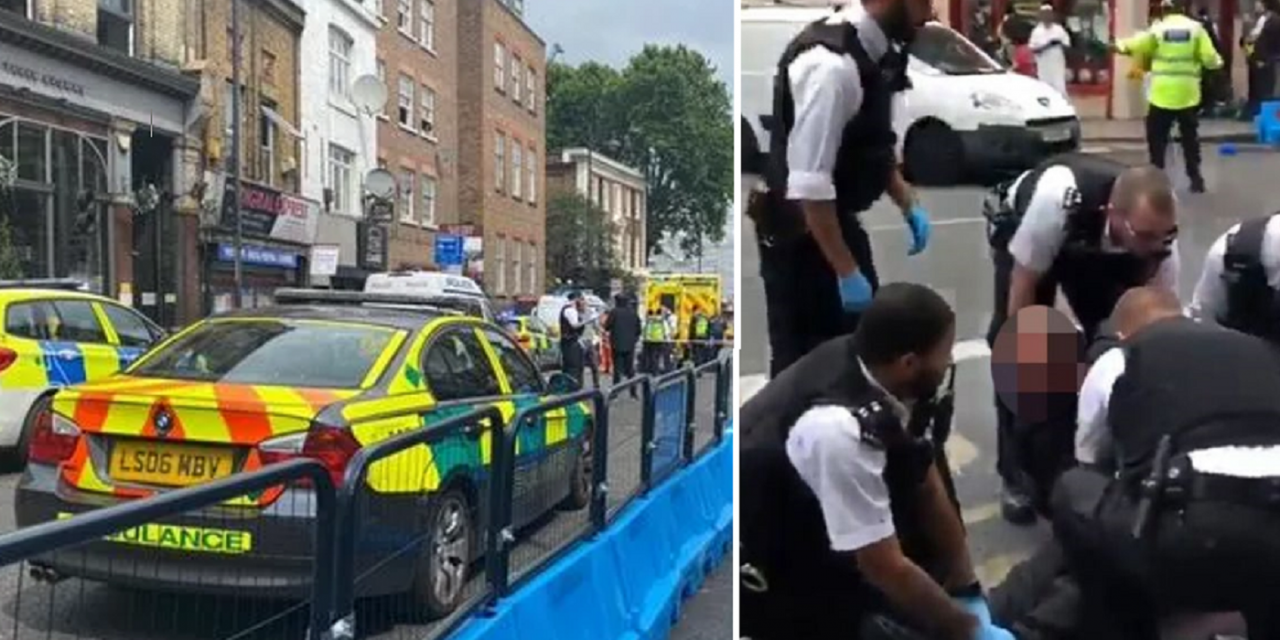 Jewish man stabbed multiple times in London street; public restrain attacker