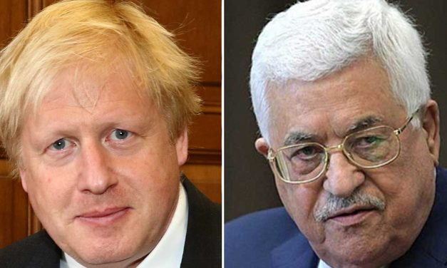 Boris calls Abbas to reaffirm opposition to Israeli sovereignty in Judea and Samaria