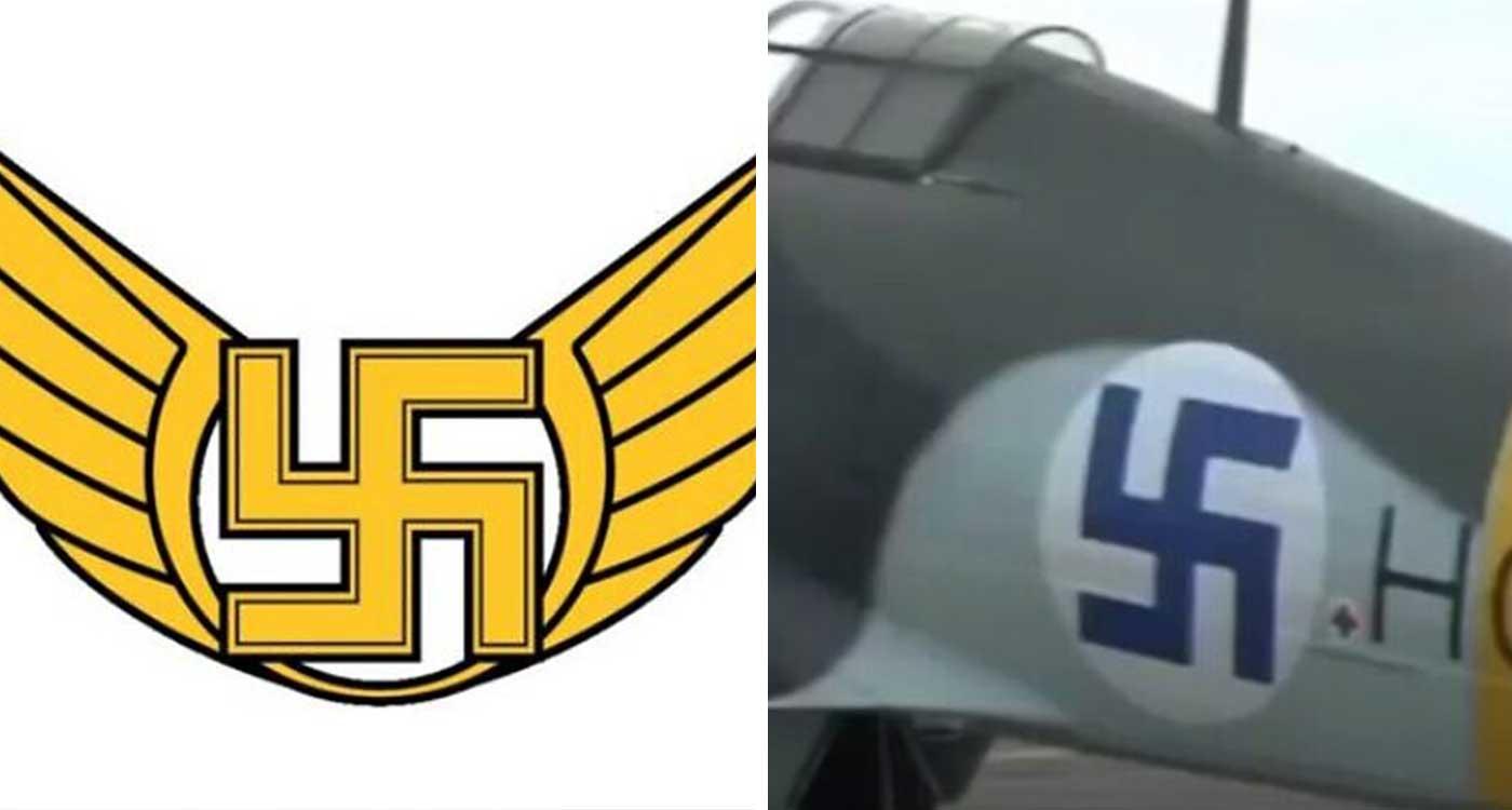 Finnish Air Force Swastika