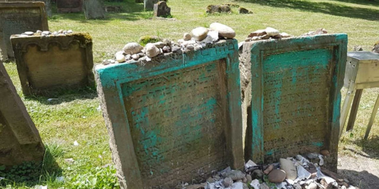 Europe's oldest cemetery targeted with 50 gravestones vandalised