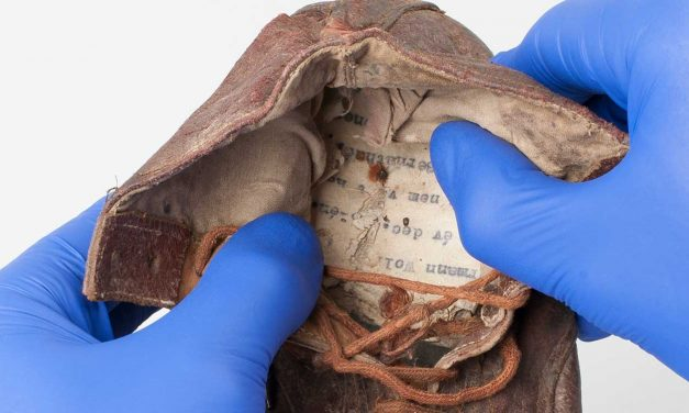Auschwitz Museum discovers six-year-old's shoes with hidden inscription