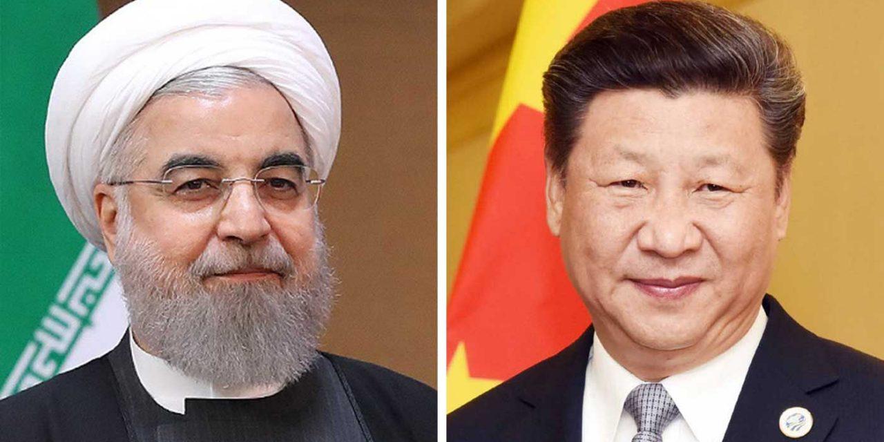Iran and China agree military and trade partnership