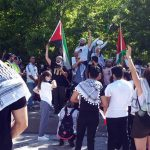 "Anti-Israel protesters chant ""Jews are our dogs"" in Canada"