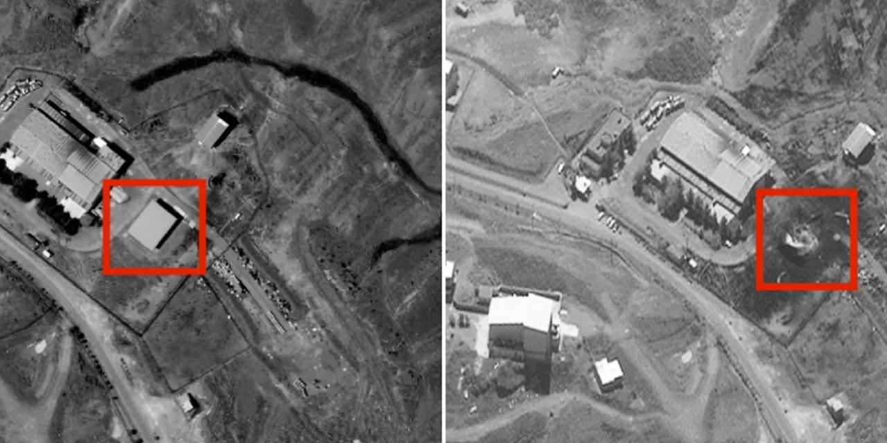 Large explosion destroys building at Tehran military site