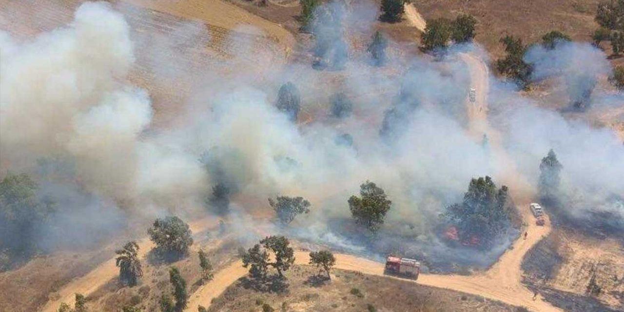 Hamas terror balloons start 100+ fires in Israel, IDF responds striking Hamas terror targets in Gaza