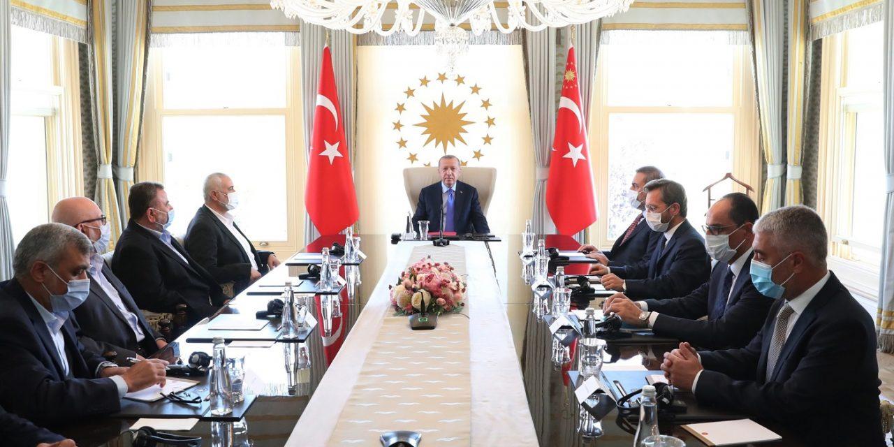 Alarm as Turkey's Erdogan meets Hamas leaders in Istanbul
