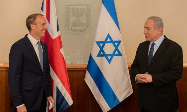 UK Foreign Minister Dominic Raab visits Israel, discusses trade, peace and Iran