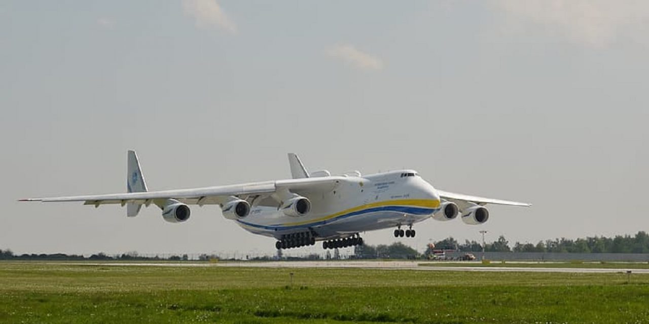 World's largest cargo plane lands in Israel to collect US purchase of Iron Dome