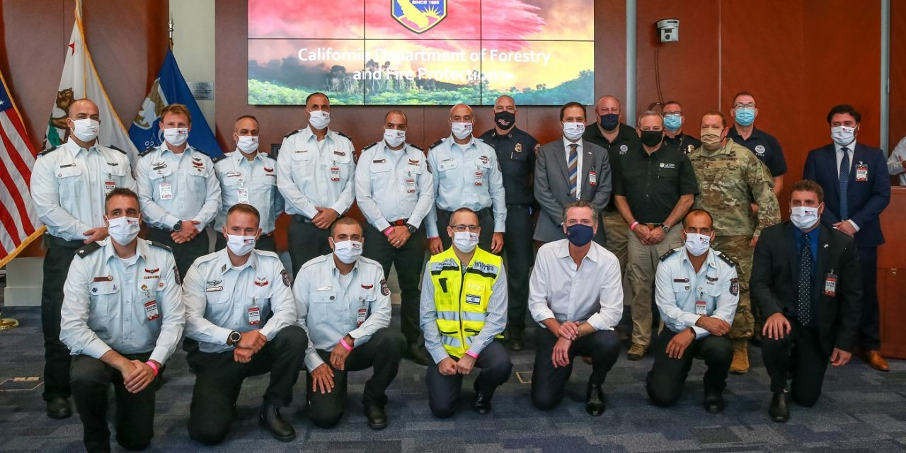 Israel sends firefighters to California to combat wildfires