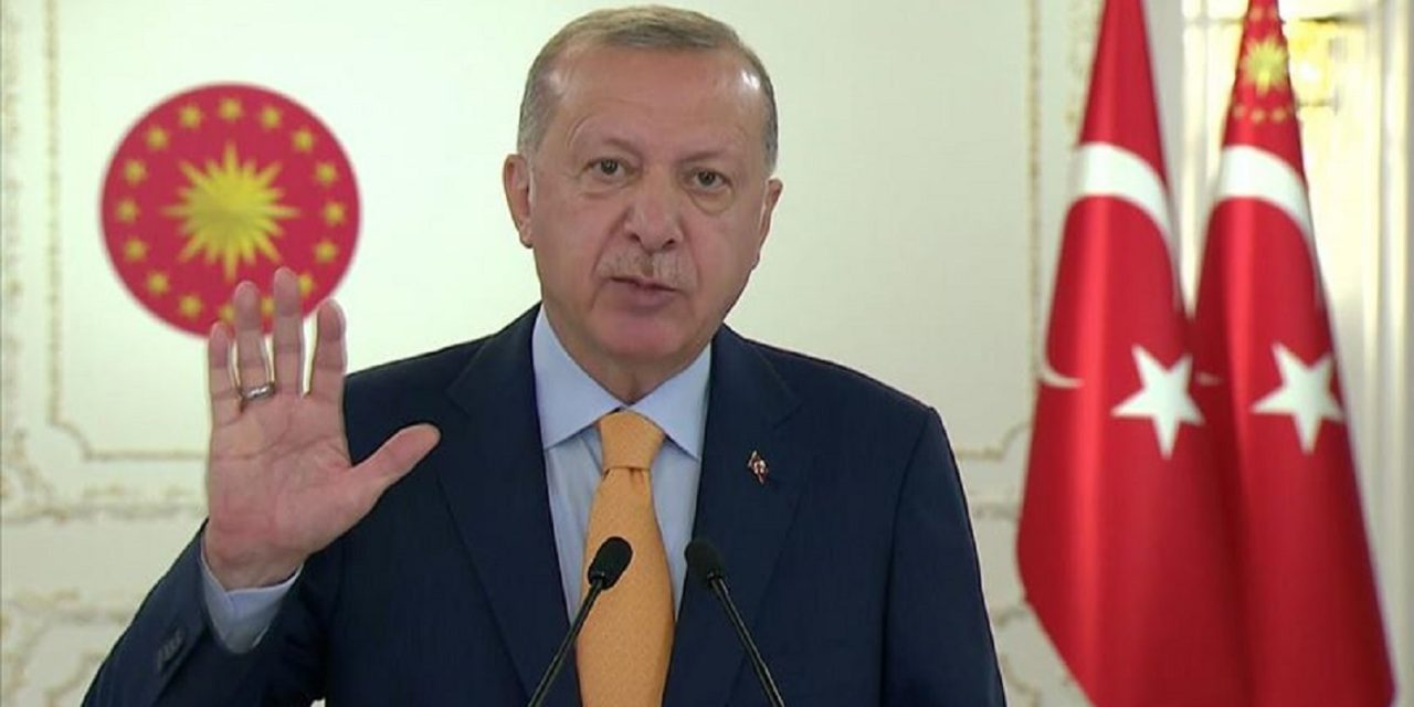 Erdogan gives offensive anti-Semitic speech at UN, causing Israeli ambassador to walk out