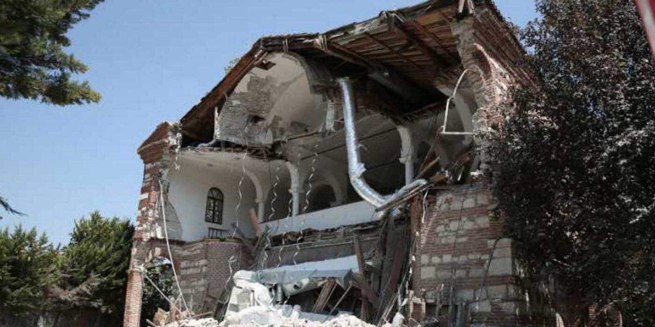 Turkey demolishes iconic Christian church, the 'Hagia Sophia of Bursa'