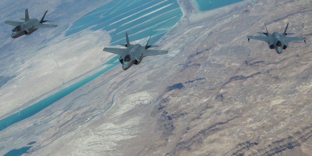 Israeli Air Force makes history: First female F-35 pilot
