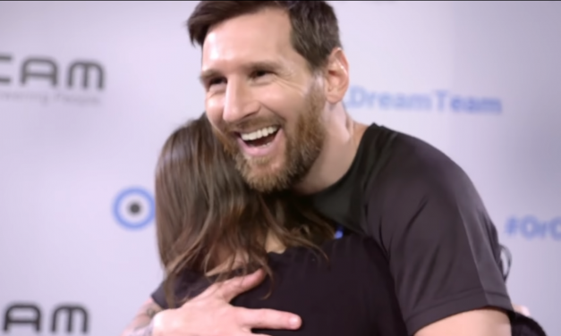 Lionel Messi teams up with Israeli startup to help the blind and visually impaired