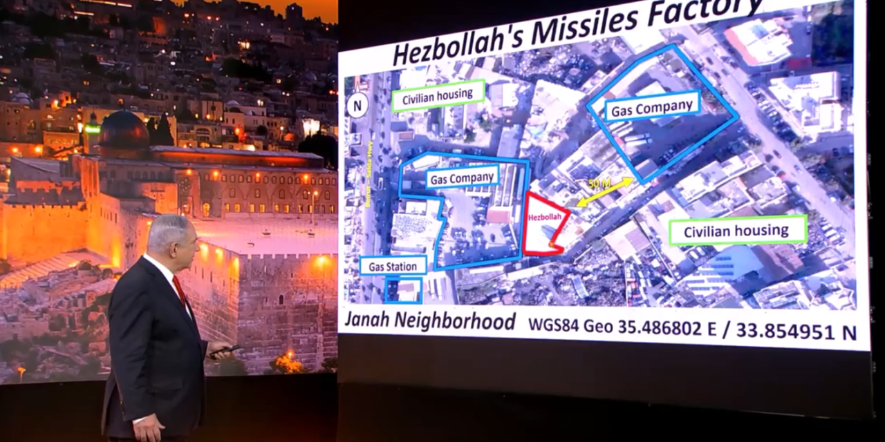 Netanyahu exposes Iran's terrorism in Lebanon through Hezbollah at the UN