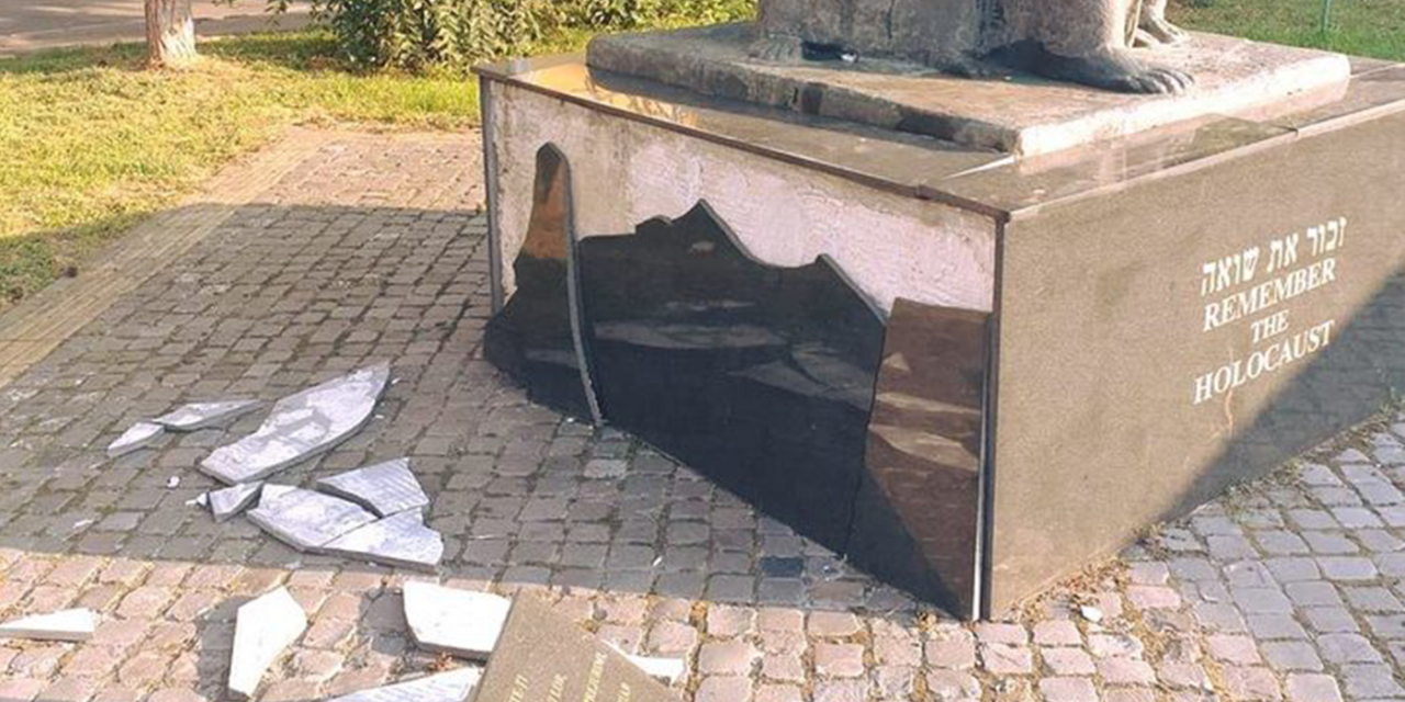 Romania: Holocaust memorial smashed by unknown vandals