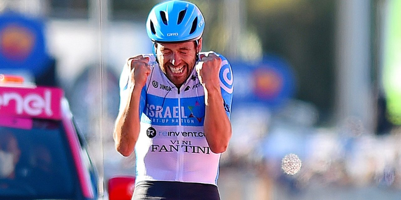 British cyclist with Team Israel wins Italian Grand Tour stage