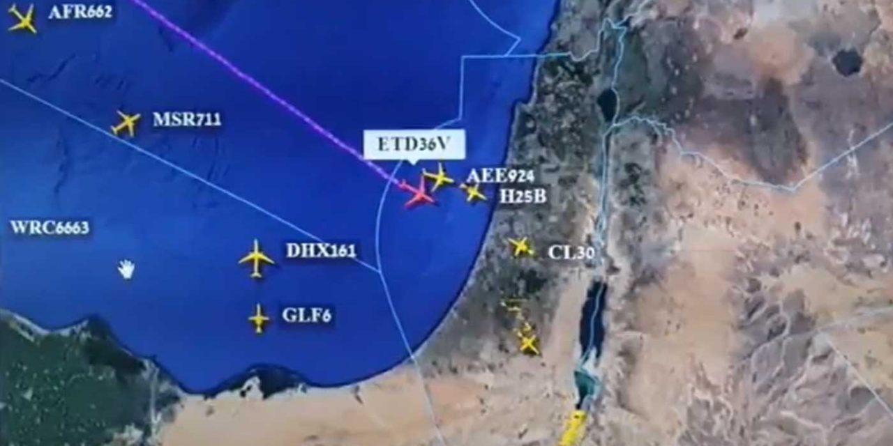 In 'historic' first, Abu Dhabi-bound flight crosses Israeli airspace